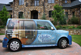 glide tour video tour car